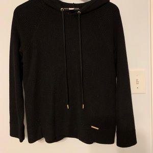 MK hooded sweater